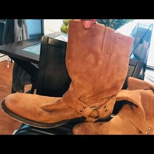 Frye Shoes - Suede Frye Company Boots
